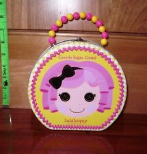 LALALOOPSY tin lunchbox Crumbs Sugar Cookie rag-doll cartoon 2011