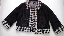STUNNING D&G DOLCE AND GABBANA 3/4 SLEEVE DENIM JACKET SIZE L UK 12 EXCELLENT CO