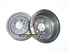 SET BRAKE DRUMS FOR JEEP CHEROKEE (XJ) AND WRANGLER (YJ & TJ) 1990-2001