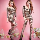 Sexy Women's Lingerie Fishnet Body stockings Dress Underwear Babydoll Sleepwear