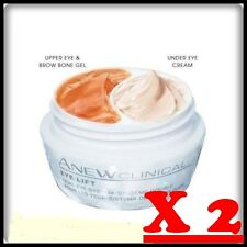 X 2 Avon Anew Clinical Eye Lift doble sistema de ojos-Alta Eye Gel + Under Eye 40 Ml.