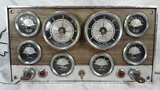 Vintage Boat Marine Instrument Panel Dash Gauge Cluster Dual Engine Steampunk