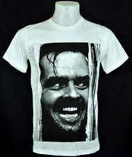 The Shining Jack Nicholson white T-Shirt Indy punk Rock 100% cotton Tee Size L