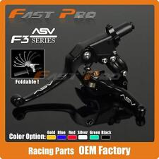 Alloy ASV F3 Series set Clutch Brake Folding Lever Fit Most Motorcycle MX enduro