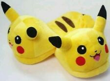 POKEMON CIABATTE PIKACHU Slippers Pantofole Babbucce Scendiletto Plush Shoes