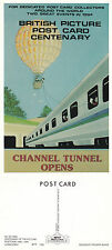 1994 POSTCARD CENTENARY CHANNEL TUNNEL LIMITED EDITION ADVERTISING POSTCARD