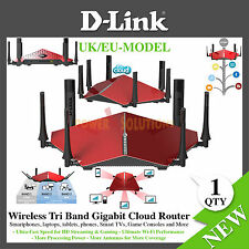 D-Link DIR-890L Wireless AC3200 Ultra Tri-Band Gigabit Router 3200Mbps UK / EU