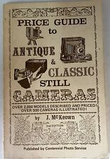 1978 2nd EDITION PRICE GUIDE TO CAMERAS ANTIQUE & CLASSIC STILLS 2000 LISTINGS