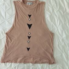 NWOT WILDFOX COUTURE TRIBAL PRINT MUSCLE TEE TANK - SIZE XS - $98