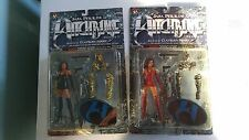 Lot of 2 Moore Witchblade Series II Action Figures