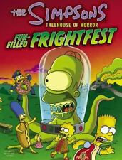 The Simpsons Treehouse of Horror Fun-Filled Frightfest-ExLibrary