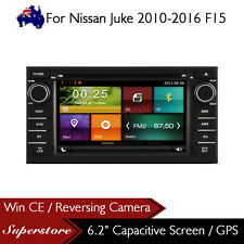 "6.2"" Navigation Car DVD GPS Head Unit Stereo player For Nissan Juke 2010-2016"