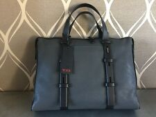 Tumi Mission Iron Harrison Leather Brief Style 068917IRN in Gray (MSRP$495)