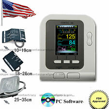 CONTEC08A+3 cuffs (adult,child,infant) Digital Electronic Blood Pressure Monitor