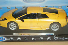 Rare Lamborghini Murcielago Yellow Opening Parts Model 1:18 Mint in Box Stunner