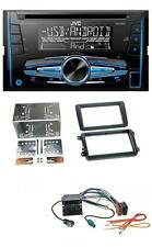 JVC CD MP3 USB 2-DIN Autoradio für VW Caddy ab 2003 Golf V Golf VI Jetta ab 2005