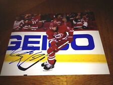 Riley Nash Carolina Hurricanes Autographed 8x10 Photo    COA