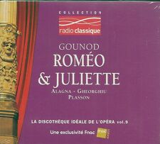 CD DIGIPACK CLASSIQUE--ROMEO & JULIETTE--ALAGNA / GHEORGHIU & PLASSON--NEUF
