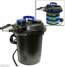 10000 Liter koi Pond Pressure Bio Filter w/ 13W UV Sterilizer 4000 Gallon 1000L