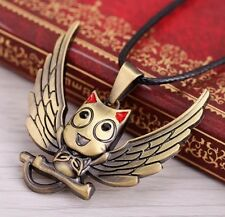 Fairy Tail Happy Metal Pendant Necklace Anime Cosplay US Seller