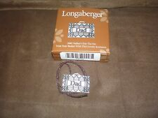 Longaberger 2001 Father's Day Dad Basket Tie-On