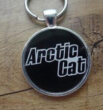 Arctic Cat Logo Snowmobile Reproduction Keychain
