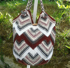 Hand Knit Market or Swim or Gym Bag -  5 Colour
