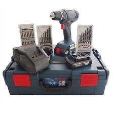 Bosch Batterie percussion GSR 18-2-li, 2 batteries 18 v 0615990ff3 en L-BOXX taille 2
