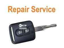 REPAIR SERVICE for Nissan Almera N16 Micra Note Navara 2 button remote key FIX