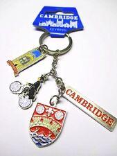 Cambridge Charms Schlüsselanhänger keychain,Souvenir Großbritannien UK