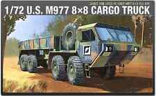 U.S. M977 8x8 CARGO TRUCK US ARMY GROUND VEHICLE 1/72 SCALE MODEL KIT
