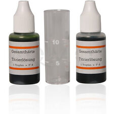 GESAMTHAERTE - HARDNESS - DUREZA - DUREZZA - DURETE - HARDHEID - WATER -KIT 30ml