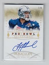 2014 Immaculate Troy Aikman Pro Bowl Selections On Card Auto SP (1/6)