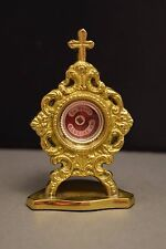 "+ Reliquary w/ Relic of ""St. Lucy, Virgin & Martyr"" + (TS103) + chalice co."