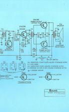 Nice *COPY* Bulova 660 Hercules AM Transistor Pocket Radio Schematic Diagram