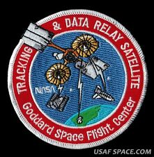 NASA TDRS Tracking & Data Relay SATELLITE Network GSFC SPACE PATCH