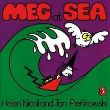 Preschool Story Book - Meg and Mog Story Book - MEG AT SEA - NEW