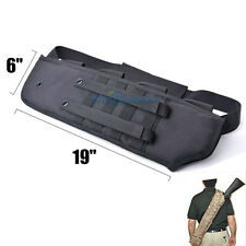 "19"" Tactical Shotgun Rifle Scabbard Bag Molle Shoulder Sling Belt Padded Holster"