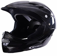 MINI MOTO in discesa KIDS BMX Motocross stile faccia completa Moto Quad Off Road Casco