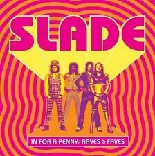 Slade In For A Penny: Raves & Faves CD NEW SEALED Glam B-Sides/Album Cuts+