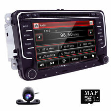 For VW Golf Passat MK5 Car DVD Player Radio GPS Navi Bluetooth Stereo+CAM+Map