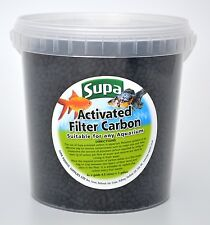 Activated Carbon for Internal & External Aquarium & Pond Filters 1 litre ~500g