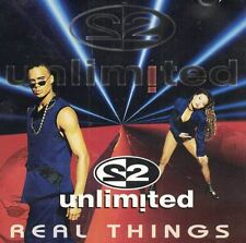 Real Things 2 Unlimited Music CD 1994 Critique Records