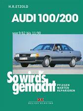 WERKSTATTHANDBUCH WARTUNG SO WIRD´S WIRDS GEMACHT 41 AUDI 100 / 200
