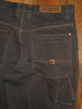 Carpenter Jeans Mens 36x33 Brown Denim Pants Painters Work Casual PJ 6j6