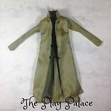 Barbie Modern Circle Trench Coat Long Jacket Green Doll Clothes FS160