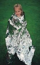 2X NEW EMERGENCY FOIL SPACE BLANKET - SPECIAL NEEDS / AUTISM