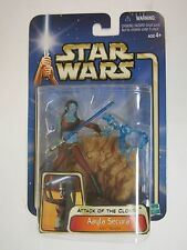 Star Wars AOTC Saga 03 #11 AAYLA SECURA Jedi Knight Figure BRAND NEW  SEALED