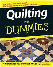 Quilting For Dummies-ExLibrary