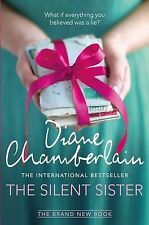 The Silent Sister BRAND NEW BOOK by Diane Chamberlain (Paperback, 2015)